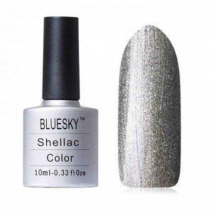 Гель-лак Bluesky №146 темное серебро, с большим количеством перламутра, плотный, 10 мл
