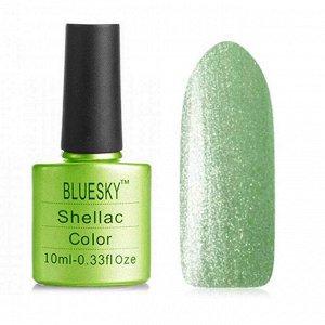 Гель-лак Bluesky №184 пастельно-зеленый, перламутровый, 10 мл