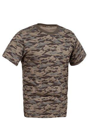 Камуфляжная футболка 'Тигр тёмный'