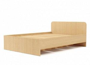 Кровать 1400 №2 (3уп) (Белёный дуб)