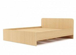 Кровать 1600 №2 (3уп) (Белёный дуб)