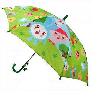 """Зонт детский """"Играем вместе"""" Малышарики, д.45 см, со свистком , пак."""