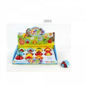 Игрушка заводная Веселые фрукты , в ассорт. 5 см