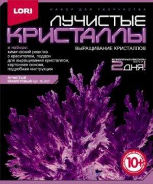 """Кристалл лучистый Фиолетовый, кор. 12*4*14 см  ТМ """"Лори"""""""