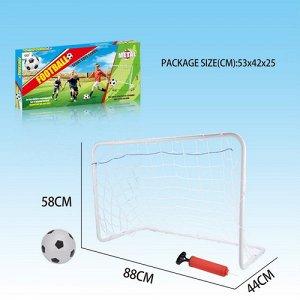 Футбольные ворота 58*88*44 см.
