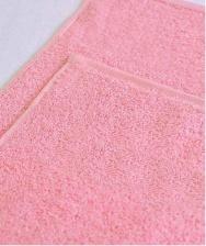 Салфетка махровая 380 г/кв.м 30х30 ТМ Маруся светло-розовый AST