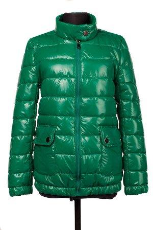 04-2266 Куртка демисезонная (синтепух 150) Плащевка зеленый