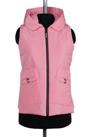 04-2262 Куртка демисезонная (синтепон 100) Плащевка розовый