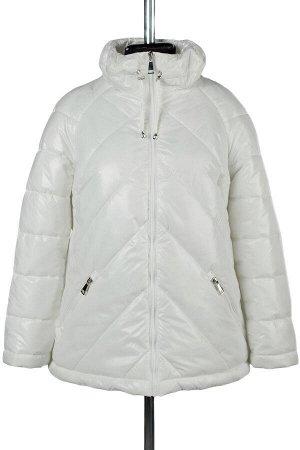 04-2255 Куртка демисезонная (синтепух 150) Плащевка белый
