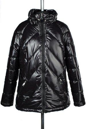 04-2251 Куртка демисезонная (синтепух 150) Плащевка черный