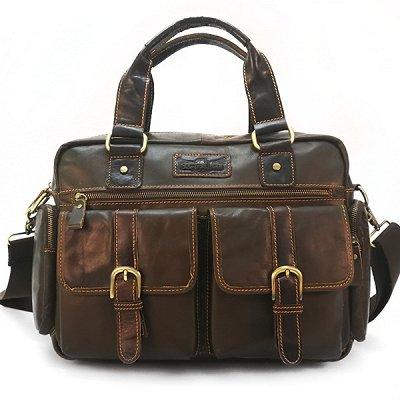 Borgo Antico 🌹Сумки из натуральной кожи💣 — Мужские сумки, натуральная кожа — Аксессуары