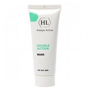 Double action Очищающая сокращающая поры маска для жирной проблемной кожи