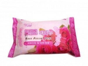 Мыло-пилинг с розой