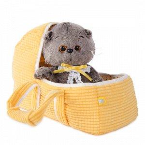 Басик BABY в люльке мягкая игрушка