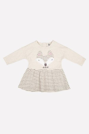5470 Платье/светло-бежевый меланж