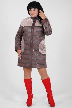 Какао Рекомендовано:при температуре до минус 10 градусов Примечание:замеры длин соответствуют размеру 54 Длина пальто:95 см Длина рукава:66 см Подкладка:есть, верблюжья шерсть Застежка:молния спе