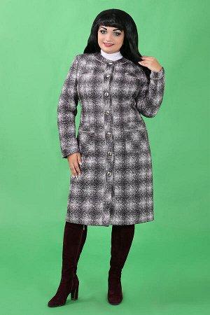 Серый Описание:Пальто, дополнительно утепленное иглопробивным синтепоном 100 г на метр квадратный. Рекомендовано при температуре до минус 10 градусов Примечание:замеры длин соответствуют размеру 52