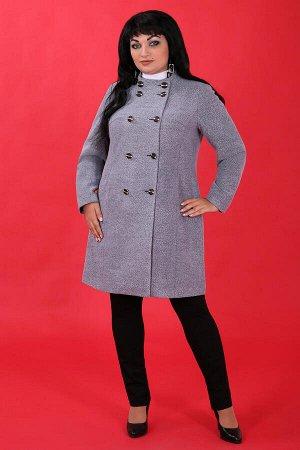 Белорусское пальто для женщинсерый