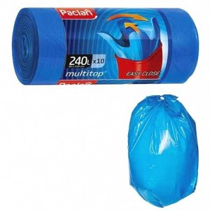 "PACLAN Мешки для мусора ""Multi Top LUX"" с ушками 240л, 10шт."
