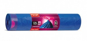 """PACLAN Мешки для мусора """"Premium"""" ПВД с тесьмой 120л, 10шт. 132317"""