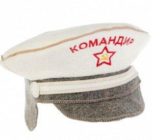"""Шапка для сауны """"Командир"""" 20066"""