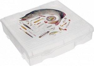 Бокс для рыболовных принадлежностей, 9 ячеек  BR3727