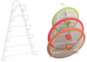 """Kiwi"" Навесная подставка для крышек 23х7х42см., цв. белый 362806-94"