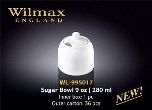 WILMAX 1.Сахарница 280мл, в п.у. WL-995017 1C