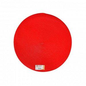 """Салфетка сервировочная """"Maze"""" 38см, цв.красный ACE-PP-RD-206C ВЭД"""