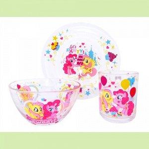 """My Little Pony"" Набор посуды 3пр. MLPS3G-1"
