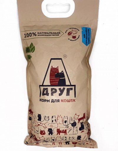 ДРУГ-29. 100% натуральный корм для кошек и собак — Корм для кошек — Корма