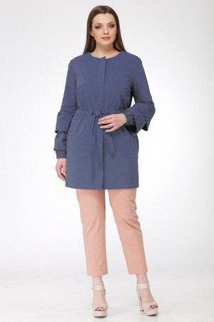 Куртка Куртка Ladis Line 912 синий  Сезон: Весна Рост: 164  В отличие от демисезонной куртки, ветровка легкая и компактная. Она не занимает много места в сумке и быстро сохнет после стирки, что делае