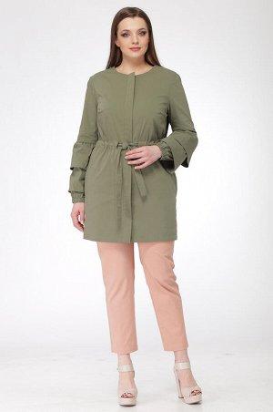 Куртка Куртка Ladis Line 912 хаки  Сезон: Весна Рост: 164  В отличие от демисезонной куртки, ветровка легкая и компактная. Она не занимает много места в сумке и быстро сохнет после стирки, что делает