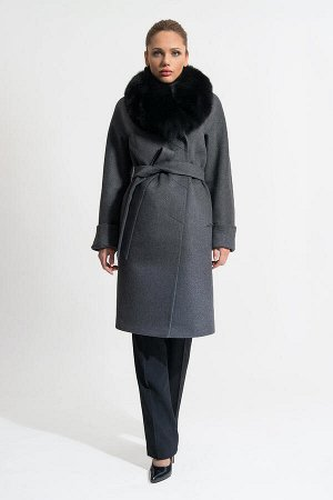 Пальто Gotti 119/5м серый
