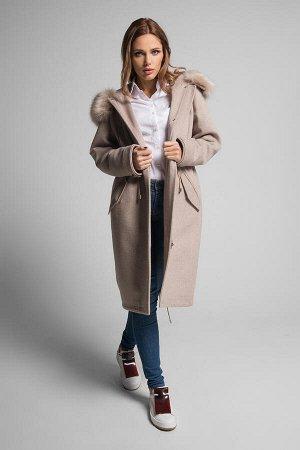 Пальто Gotti 163/2м бежевый