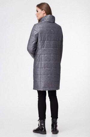 Пальто Пальто Linia-L А-1691  Состав: ПЭ-100%; Сезон: Осень-Зима Рост: 164  Повседневное текстильное осеннее утеплённое пальто прямого силуэта. Спереди и сзади рельефы из проймы. Рукав втачной длинны