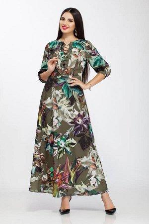 Платье LaKona 1144 акварель