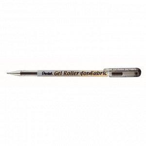 Ручка гелевая по ткани Pentel Gel Roller for Fabric 1.0мм черный BN15-A
