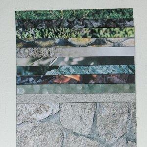 Набор бумаги для скрапбукинга с фольгированием «На рыбалку», 12 листов, 30.5 ? 30.5 см