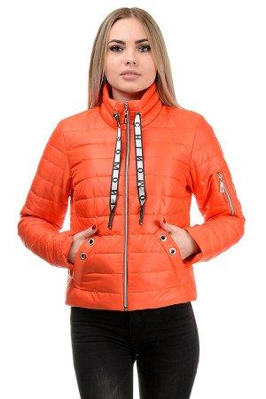 Демисезонная куртка «Илва», р-ры 42-48, №238 оранжевый