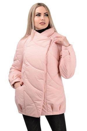Демисезонная куртка «Эдита», р-ры 44-50, №237 розовый