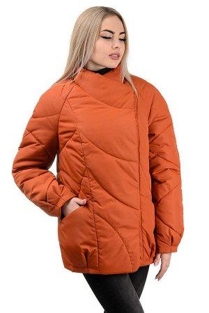 Демисезонная куртка «Эдита», р-ры 44-50, №237 терракот