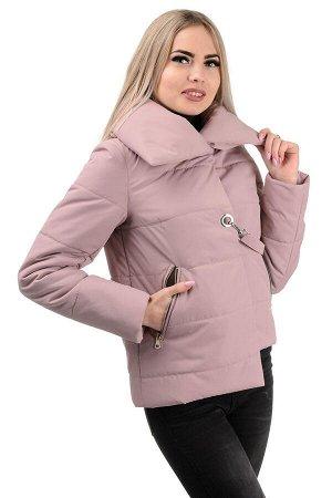 Демисезонная куртка «Далия»,р-ры 42-48, №234 пудра