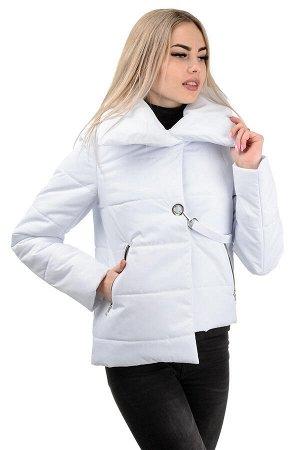 Демисезонная куртка «Далия»,р-ры 42-48, №234 белый