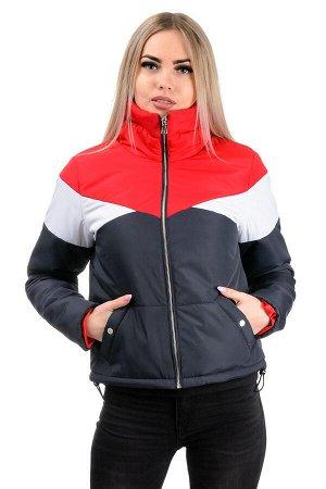 Демисезонная куртка «Яника»,р-ры 42-48, №232 т.синий