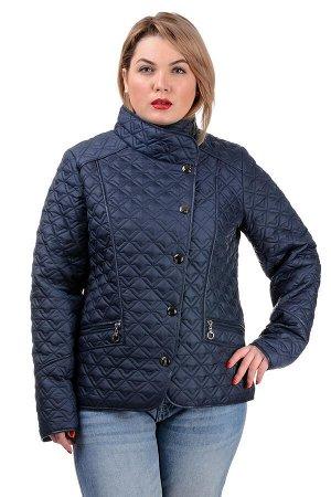 Демисезонная куртка «Фрея»,р-ры 50-56, №231 т.синий
