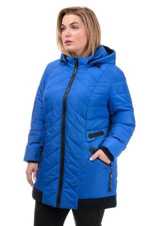Демисезонная куртка «Норма», 52-58, арт.242_василёк
