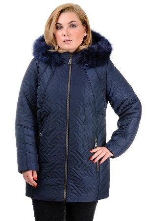 Зимняя куртка «Кимберли», р-ры 50-58, №220 т.синий
