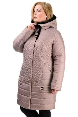 Зимняя куртка «Оманда», р-ры 50-60, №218 беж