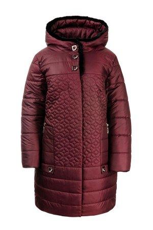 Зимняя куртка «Оманда», р-ры 50-60, №218 бордо